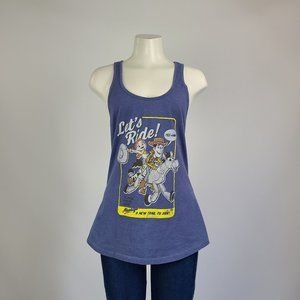 Toy Story Blue Tank Top Size M